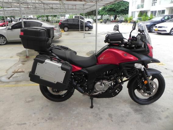 Vendo Suzuki Vstrom 650 Con Abs Roja