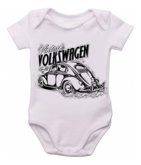 Bodie Criança Infantil Roupa Marca Bebê Fusca Volkswagen