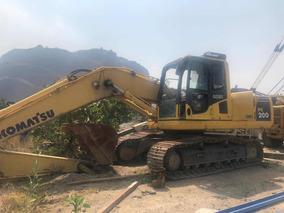 Excavadora Hidraulica Komatsu Pc200 Inundada