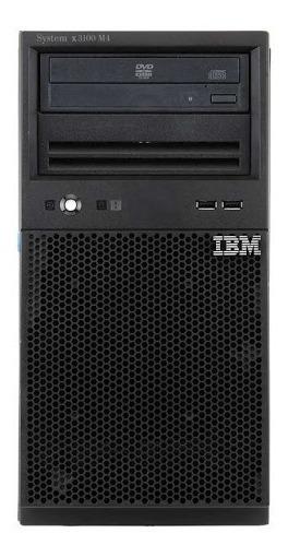 Servidor Ibm X3300 M4 Sas 3tb Proc Xeon Sixcore E5 2440 48g
