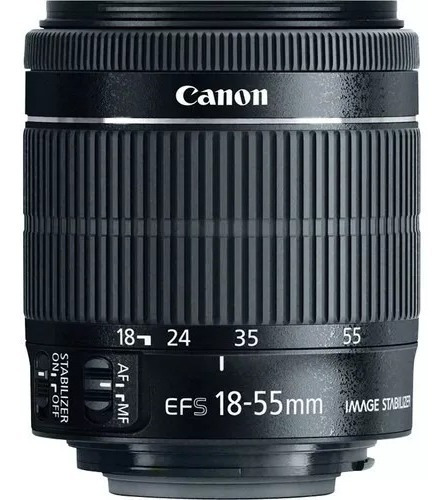 Lente Objetiva Para Canon T3,t5,t5i,t6,t6i (18-55mm)