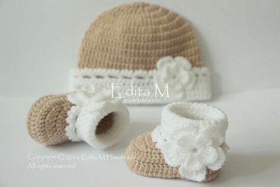 Kit Sapatinho De Croche Baby
