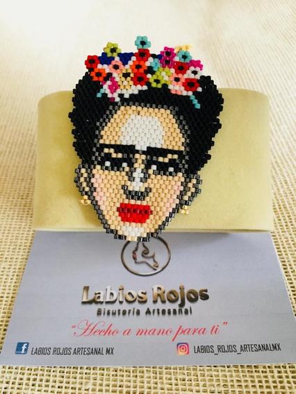 Collar Frida Kahlo Miyuki Joyería Artesanal Moda