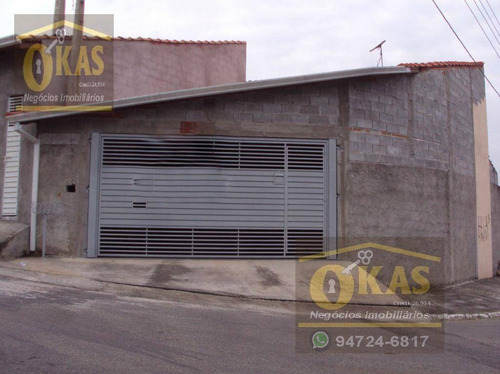 Imagem 1 de 13 de Casa Com 3 Dormitórios À Venda, 120 M² Por R$ 205.000,00 - Jardim Leblon - Suzano/sp - Ca0058