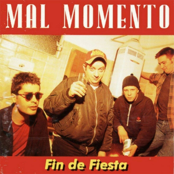 Mal Momento Fin De Fiesta Vinilo Nuevo Lp Original