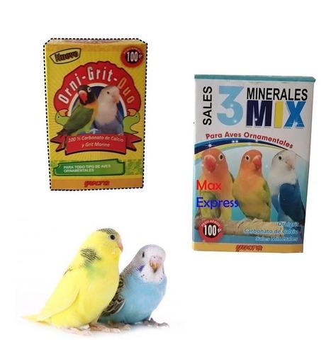 Sales Minerales Para Aves 3 Mix