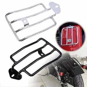 Bagageiro Eliminador De Banco Harley Davidson Cromo 883/1200