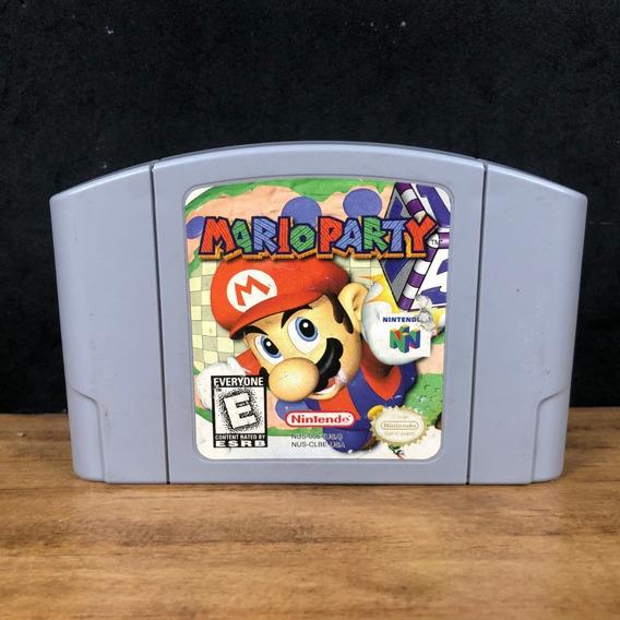 Mario Party 1 Original P/ Nintendo 64 N64 C/ Nf + Garantia