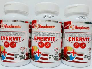 Kit 3 Licopeno,canela,colageno,vitaminas A C D E 60cap Cd