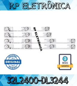 Kit 4 Barras De Led Semp Toshiba Kdl32mt626u 32l2400 Nova