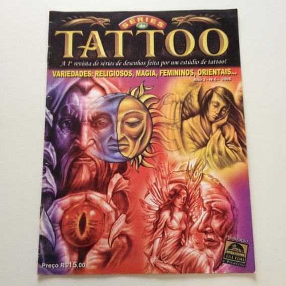 Revista Série De Tattoo Religiosos Magia Femininas A588