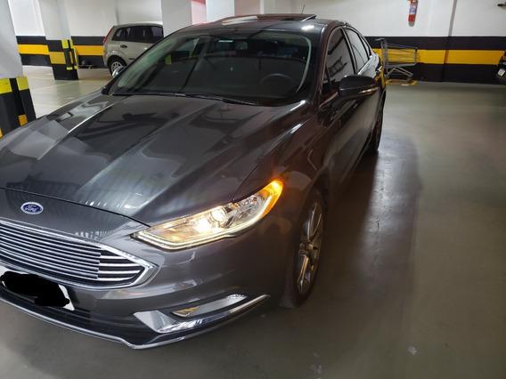 Ford Fusion Sel Ecoboost Com Teto Solar Elétrico -único Dono
