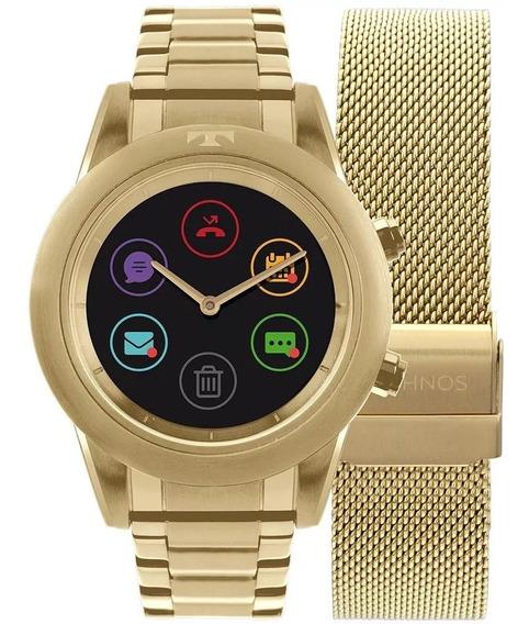 Relógio Technos Connect Duo Feminino P01ac/4p