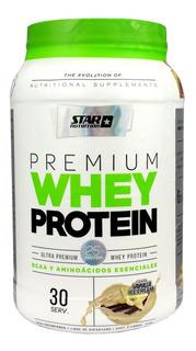 Premium Whey Protein 1 Kg Star Nutrition + L-glutamina Bcaa.