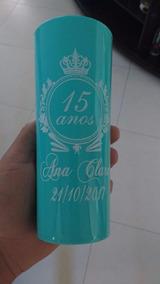 100 Copos Long Drink 350ml Personalizados Silk Arte Uma Cor