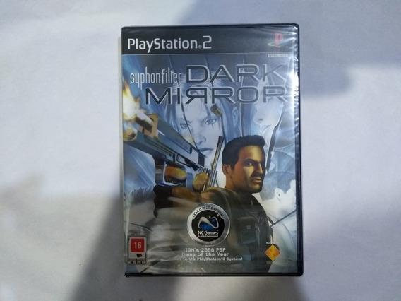Syphon Filter Dark Mirror Original Lacrado Playstation 2 Ps2