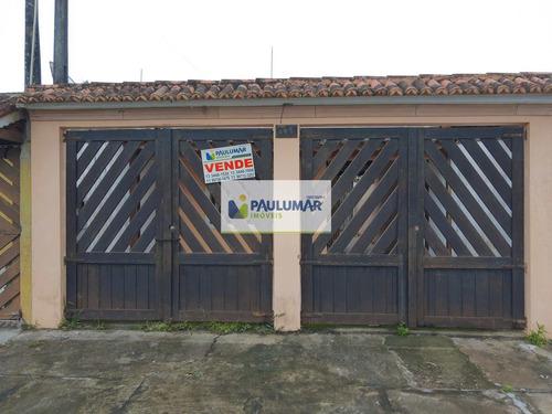Casa Com 2 Dorms, Balneário Jussara, Mongaguá - R$ 150 Mil, Cod: 15904 - V15904