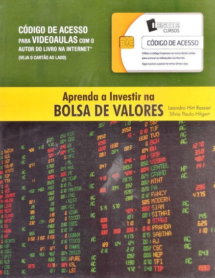 Aprenda A Investir Na Bolsas De Valores - Iesde Cursos - Vid
