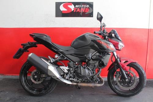 Imagem 1 de 11 de Kawasaki Z 400 Z400 Z-400 Abs 2020 Vermelha Vermelho