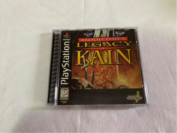 Blood Omen Legacy Of Kain Ps1 Original Completo