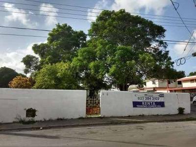 Terreno En Renta En Tampico, A Dos Cuadras De Av. Hidalgo
