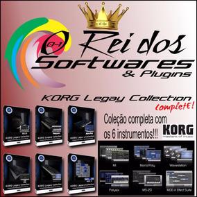 Korg Legacy Collection!!! Windows E Mac