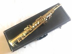 Sax Soprano Reto Júpiter Jps547 Usado Lindo....