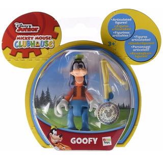 Goofy Figura Articulada Con Accesorio Original Disney