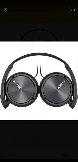 Headset Sony Mdr-zx310ap Gamer E Para Smartphone Som