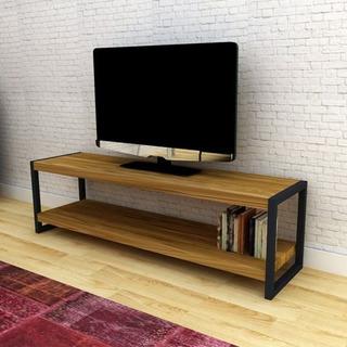Rack Para Tv. Aparador Hierro-madera. Diseño Industrial