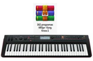 162 Excelentes Sonidos (programas) Para Korg Kross 1