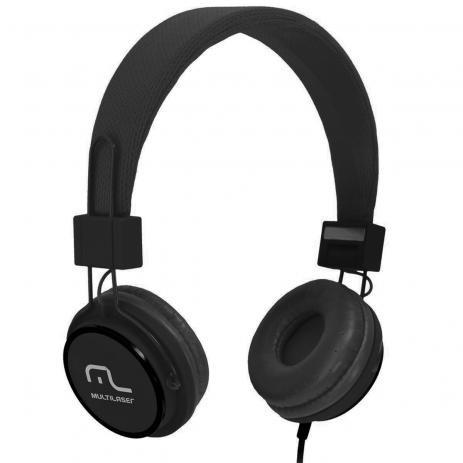 Fone De Ouvido Multilaser Headphone Fun Preto P2 - Ph115