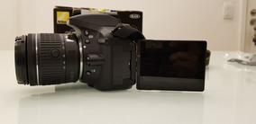 Camera Nikon D5300 Wifi, Tela Movel Com Garantia Fabricante