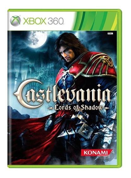 Castlevania Lords Of Shadow Xbox 360 Mídia Física