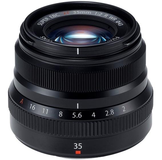 Lente Fujifilm 35mm F/2 R Wr