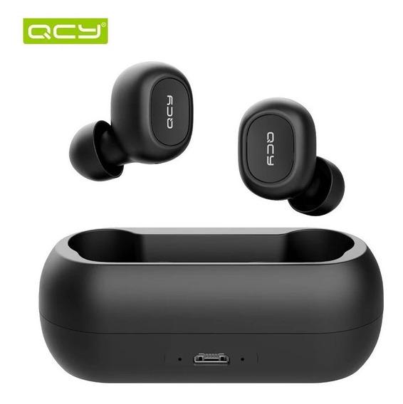 Fone Qcy Sem Fio Tws Bluetooth 5.0 Qs1 T1 Original Imediato