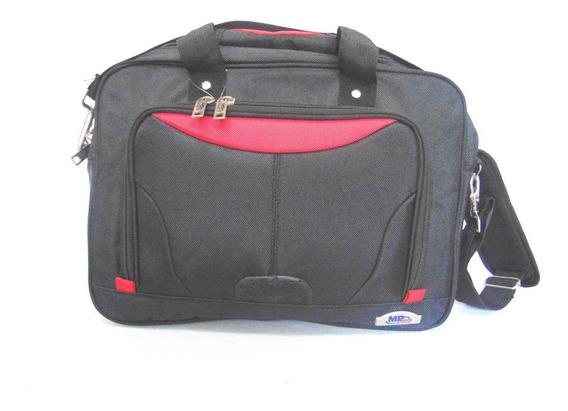Portafolio Expandible Ejecutivo Para Laptop Negro/rojo