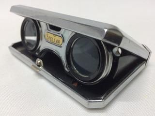 Binoculares Opera Japon Stellar Coated Lens Vintage Antiguos