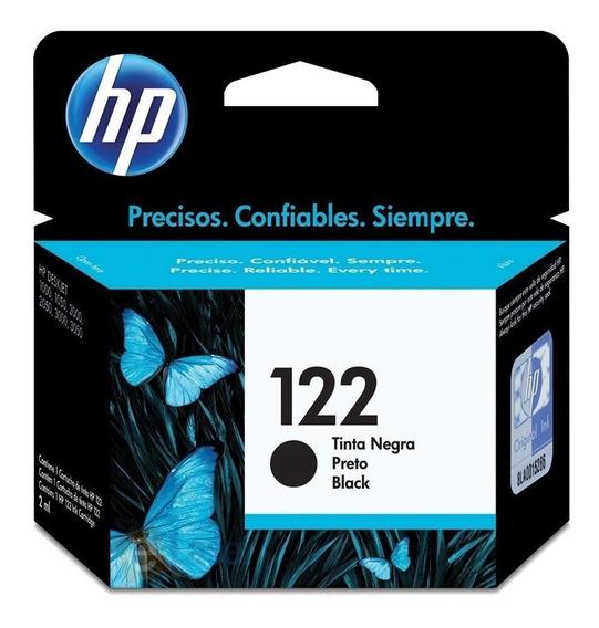 Cartucho Hp Verificable 122 Negro 122n 2050 Tienda Fisica