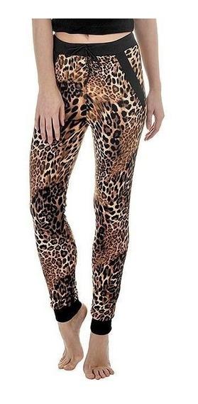 Pantalon Jogger Animal Print Talle S De Usa - 5461