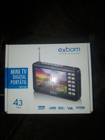 Mini Tv Digital Portátil