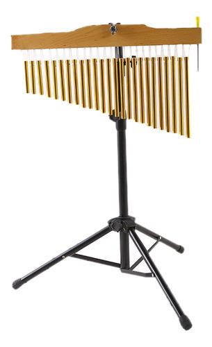 Instrumento De Percusión Musical De 25 Tonos Con Soporte