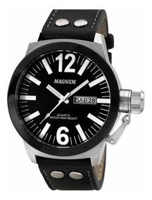 Relógio Magnum Preto Militar Soviet Original Nf + Garantia