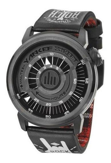 Relógio De Pulso Masculino Black Angels Ys30229p