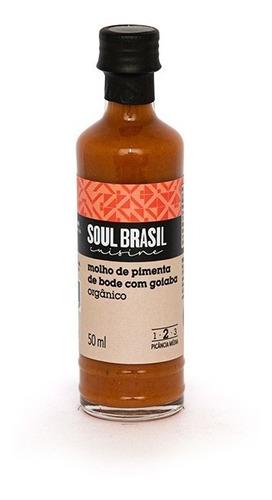 Molho Orgânico Pimenta De Bode Com Goiaba 50 Ml - Soulbrasil