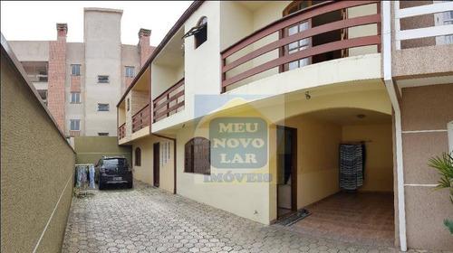 Sobrado Com 3 Dormitórios À Venda, 120 M² Por R$ 420.000 - Fanny - Curitiba/pr - So0250