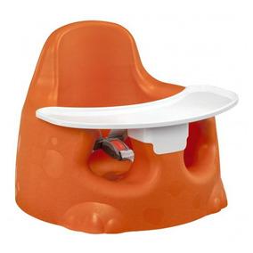 Assento De Chão Tutti Baby Sauro Para Refeições - Laranja