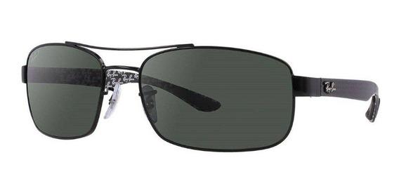 Óculos De Sol Ray-ban Rb8316 Polarizado Preto - 002/n5/62