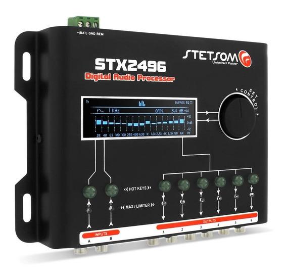 Processador De Audio Digital Equalizador Stx2496 Stetsom