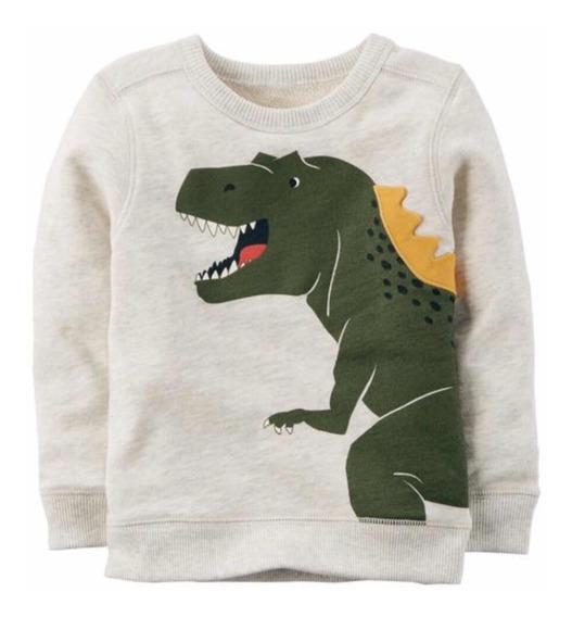 Moletom Carters Dinossauro 6m